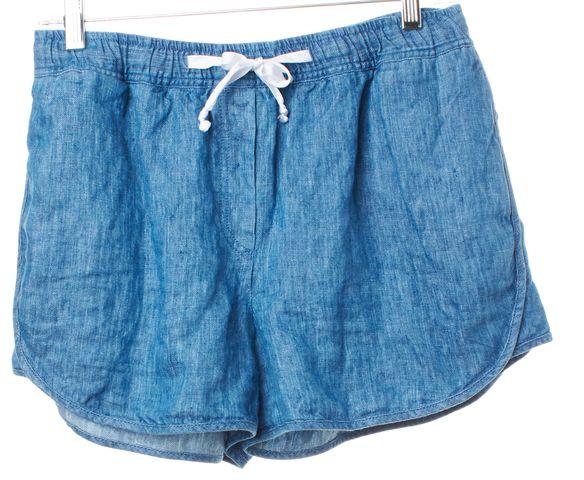 SANDRO Denim Blue Casual Shorts