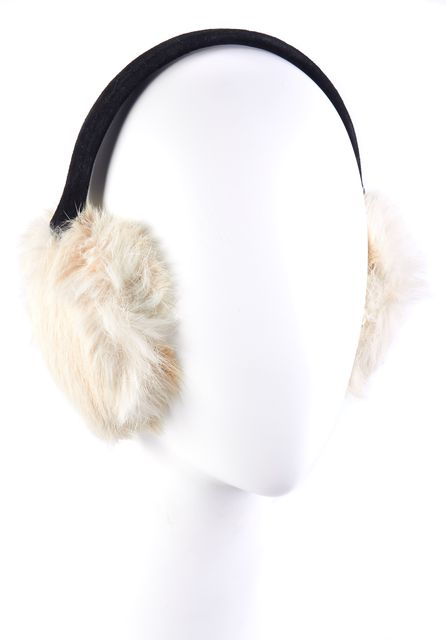 SANDRO White Earmuffs Ear Muffs