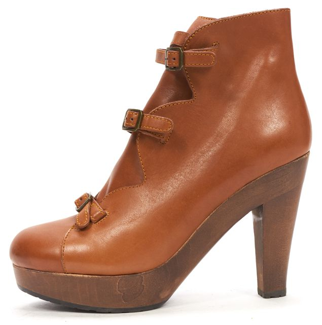 SEE BY CHLOÉ SEE BY CHLOÉ Brown Leather Pumps Ankle Boots