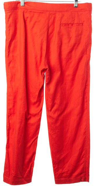 SEE BY CHLOÉ Orange Casual Relaxed Capris, Cropped Pants