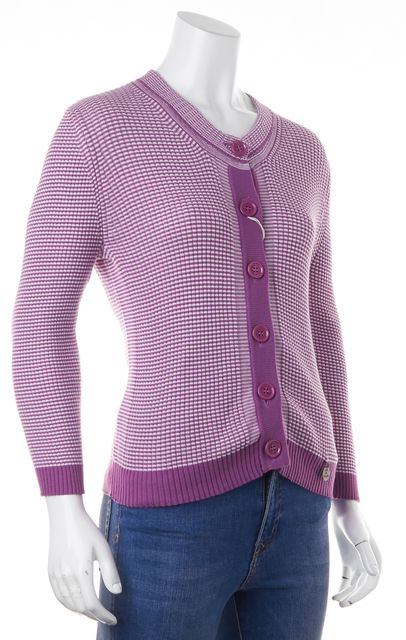 SEE BY CHLOÉ Purple Striped Cardigan