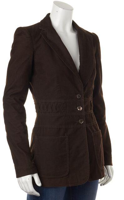 SEE BY CHLOÉ Brown Corduroy Basic Jacket
