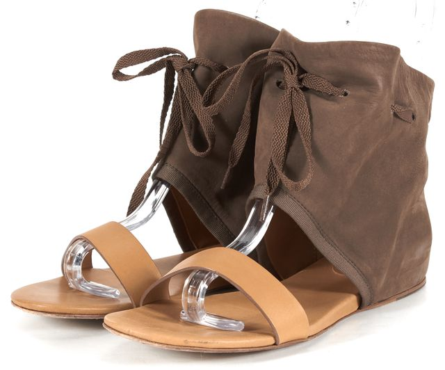 SEE BY CHLOÉ Brown Leather Sandals