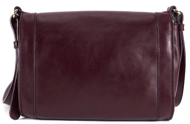 SEE BY CHLOÉ Wine Purple Leather Gold Hardware Jill Crossbody