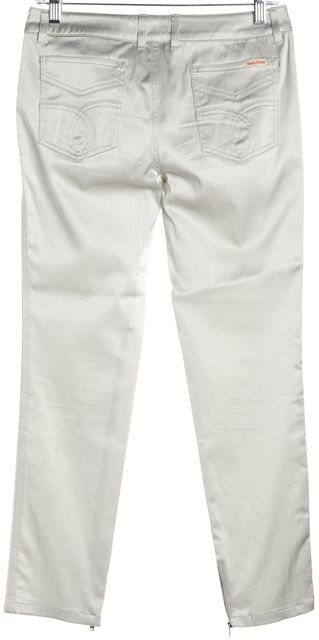 SEE BY CHLOÉ Gray Ankle Zipped Super Skinny Pants