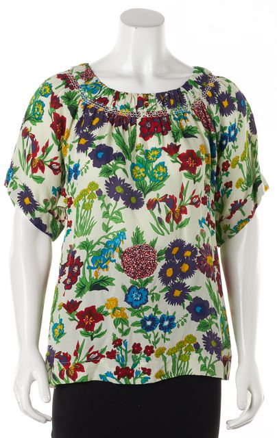 SEE BY CHLOÉ Multi-color Floral Blouse Top