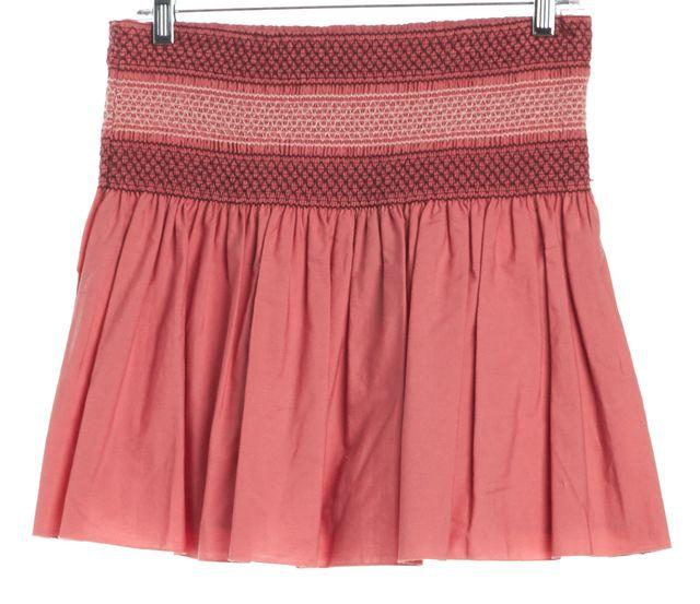 SEE BY CHLOÉ Dark Rose Mini Skirt