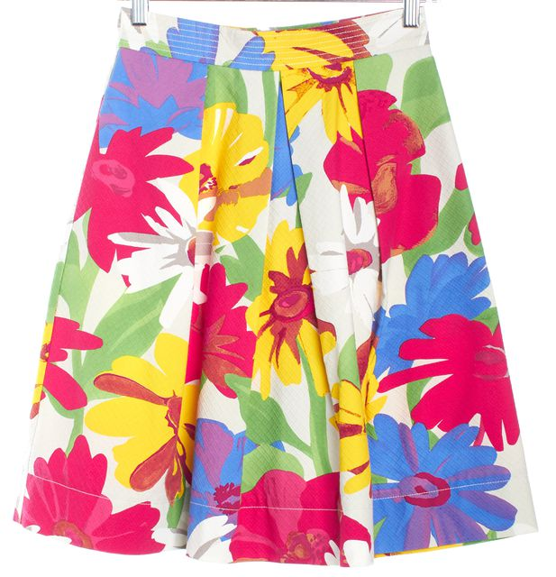 SEE BY CHLOÉ Multi-color Floral Full Skirt