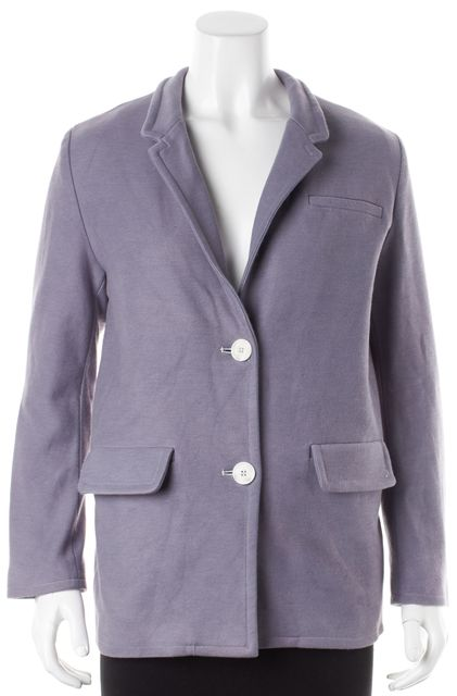 SEA NY Lavender Purple Two Button Casual Blazer Jacket