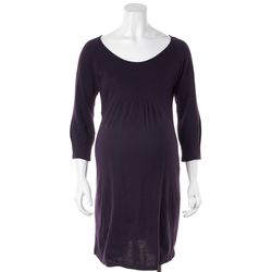 59961f9dfd5 SERAPHINE Purple Sweater Dress Size 2   eBay