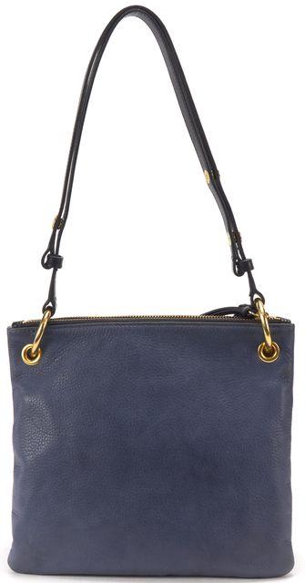 STEVEN ALAN Blue Leather Crossbody Bag