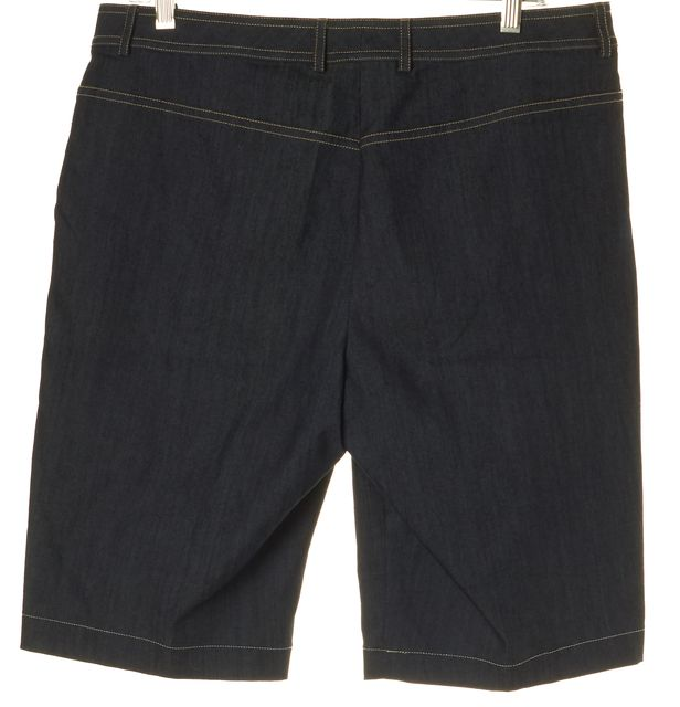 ST. JOHN Blue Denim 2 Pocket Shorts