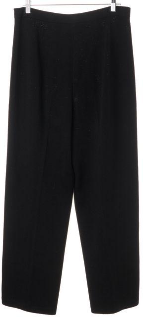 ST. JOHN Black Casual Pants