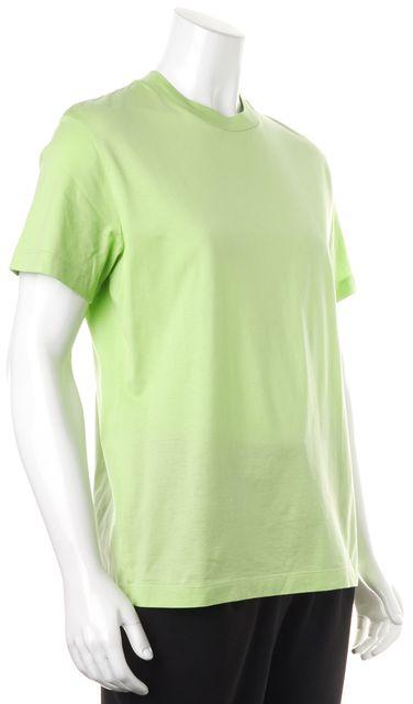 ST. JOHN Green Basic Short Sleeve T-Shirt