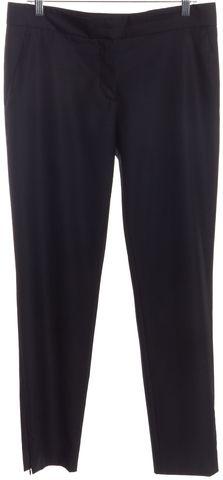 STELLA MCCARTNEY Navy Blue Wool Trousers Pants