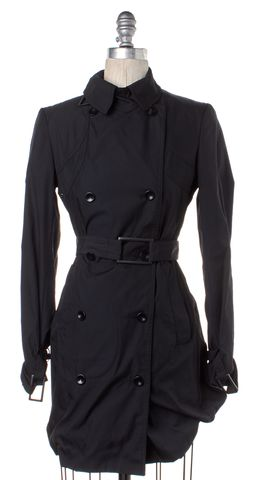 STELLA MCCARTNEY Black Trench Coat