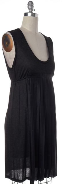 STELLA MCCARTNEY Gray Pleated Empire Waist Dress