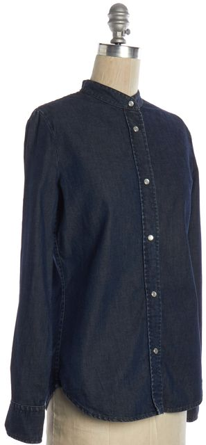 STELLA MCCARTNEY Blue Chambray Button Down Shirt