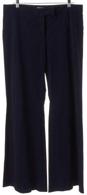 STELLA MCCARTNEY Navy Blue Wide Leg Trousers Pants