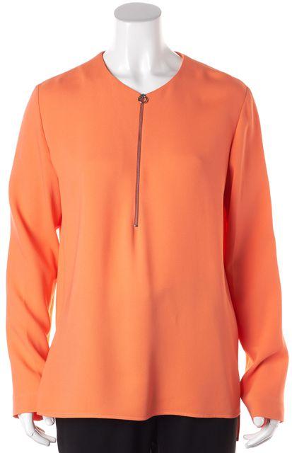 STELLA MCCARTNEY Orange Tunic Top