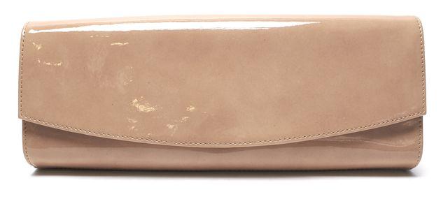 STUART WEITZMAN Authentic Beige Patent Leather Long Clutch