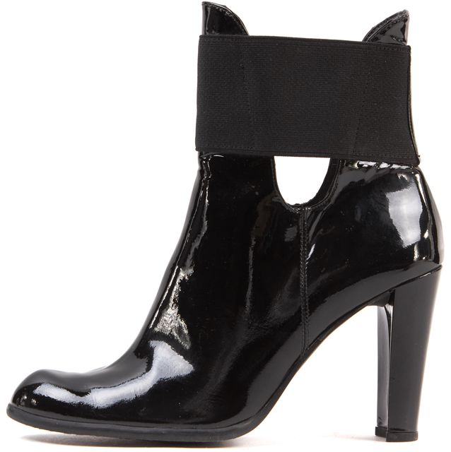 with paypal cheap price online cheap Stuart Weitzman Embossed Patent Leather Ankle Boots authentic online JZgsDk4fn