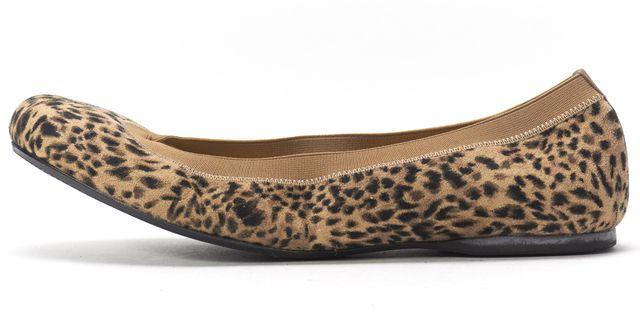 STUART WEITZMAN Beige Leopard Ultra Adaptable Flats