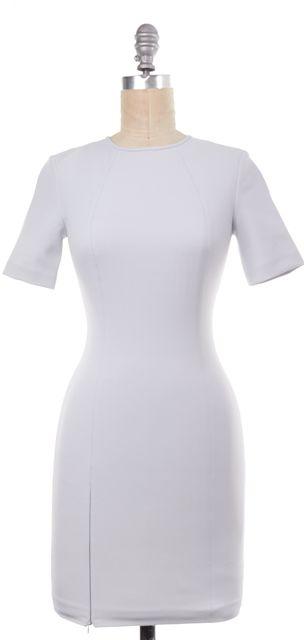 T BY ALEXANDER WANG Light Blue Short Sleeve Bodycon Dress