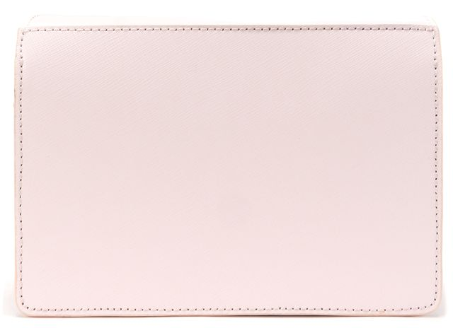TED BAKER Auth NEW NWT Baby Pink Leather Metal Trim Small Crossbody Bag