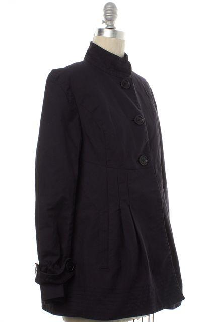 TED BAKER Black Button Down Basic Coat