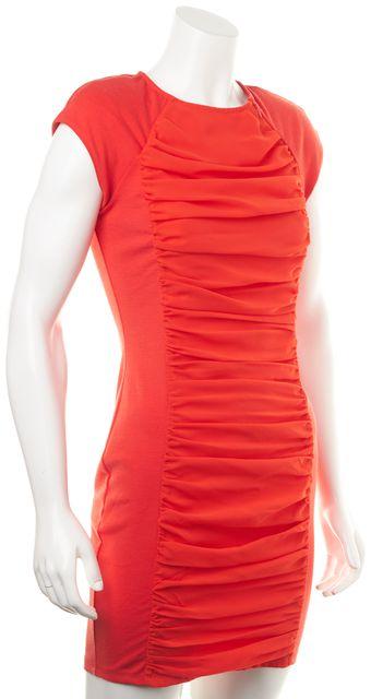 TED BAKER Orange Bodycon Dress