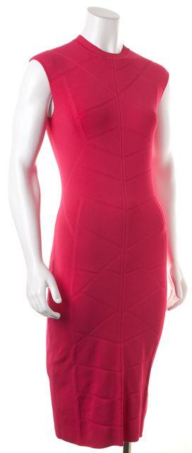 TED BAKER Pink Sleeveless Sahskia Bodycon Dress