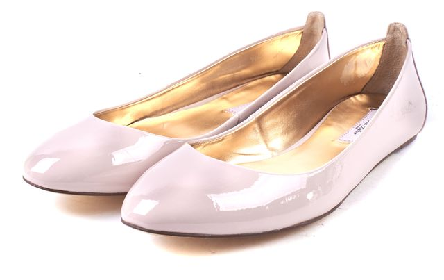 TED BAKER Pink Patent Leather Carum 2 Ballet Flats