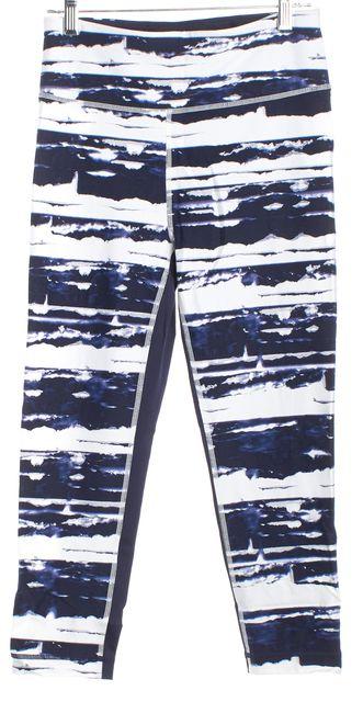 TOMMY HILFIGER SPORT Blue White Tie Dye Leggings