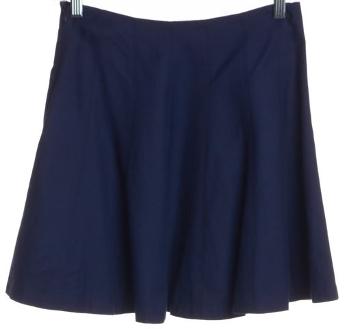 THEORY Blue Pleated Skirt