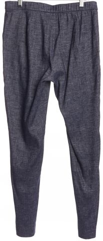 THEORY Blue Linen Casual Pants