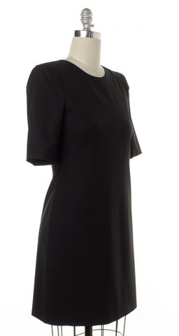 THEORY Black Sheath Dress