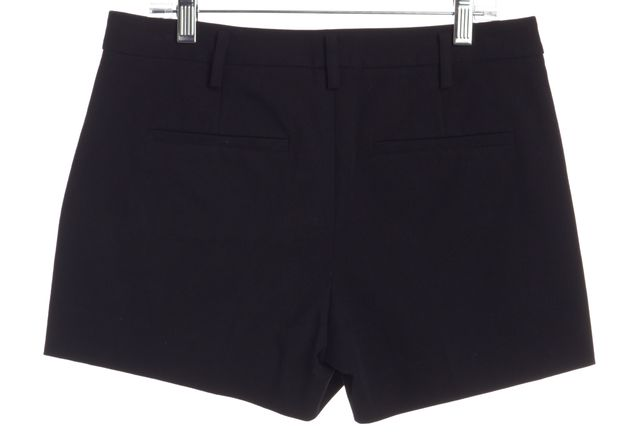 THEORY Navy Blue Trouser Shorts