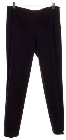 THEORY Black Casual Pants