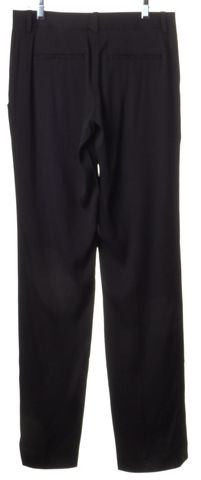 THEORY Black Silk Casual Pants
