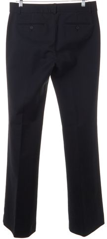 THEORY Black Tailored Flare Trousers