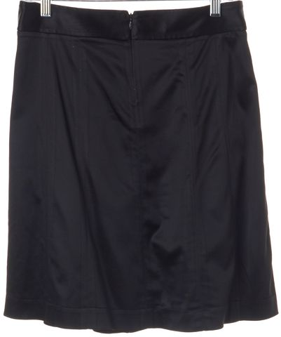 THEORY Black Pleated Skirt Size 8