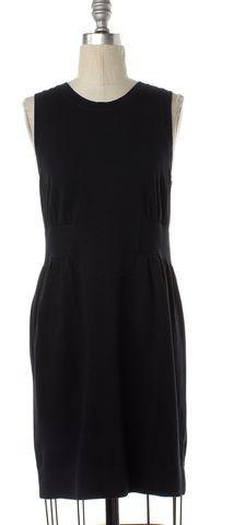 THEORY Black Sleeveless Sheath Dress