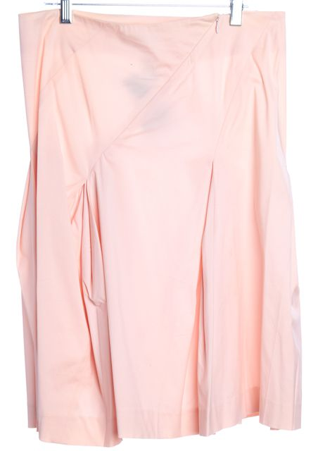 THEORY Pink Pleated Skirt