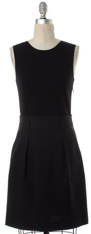 THEORY Black Wool Sheath Dress