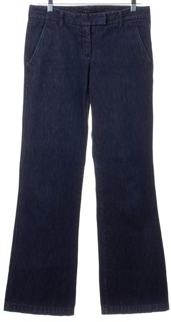 THEORY Blue Flare Leg Jeans