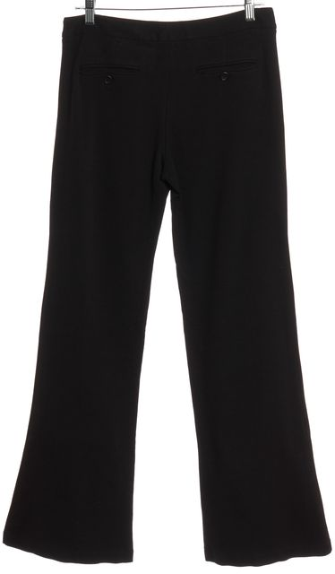 THEORY Black Stretch Flare Pants