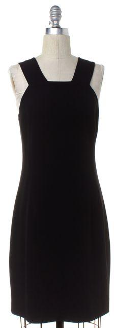 THEORY Black Classic Sheath Dress