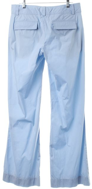 THEORY Light Blue Wide Leg Casual Pants