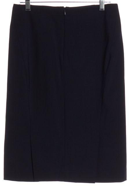 THEORY Navy Blue Pencil Skirt